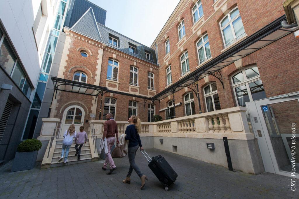 Hôtel Marotte Arrivée