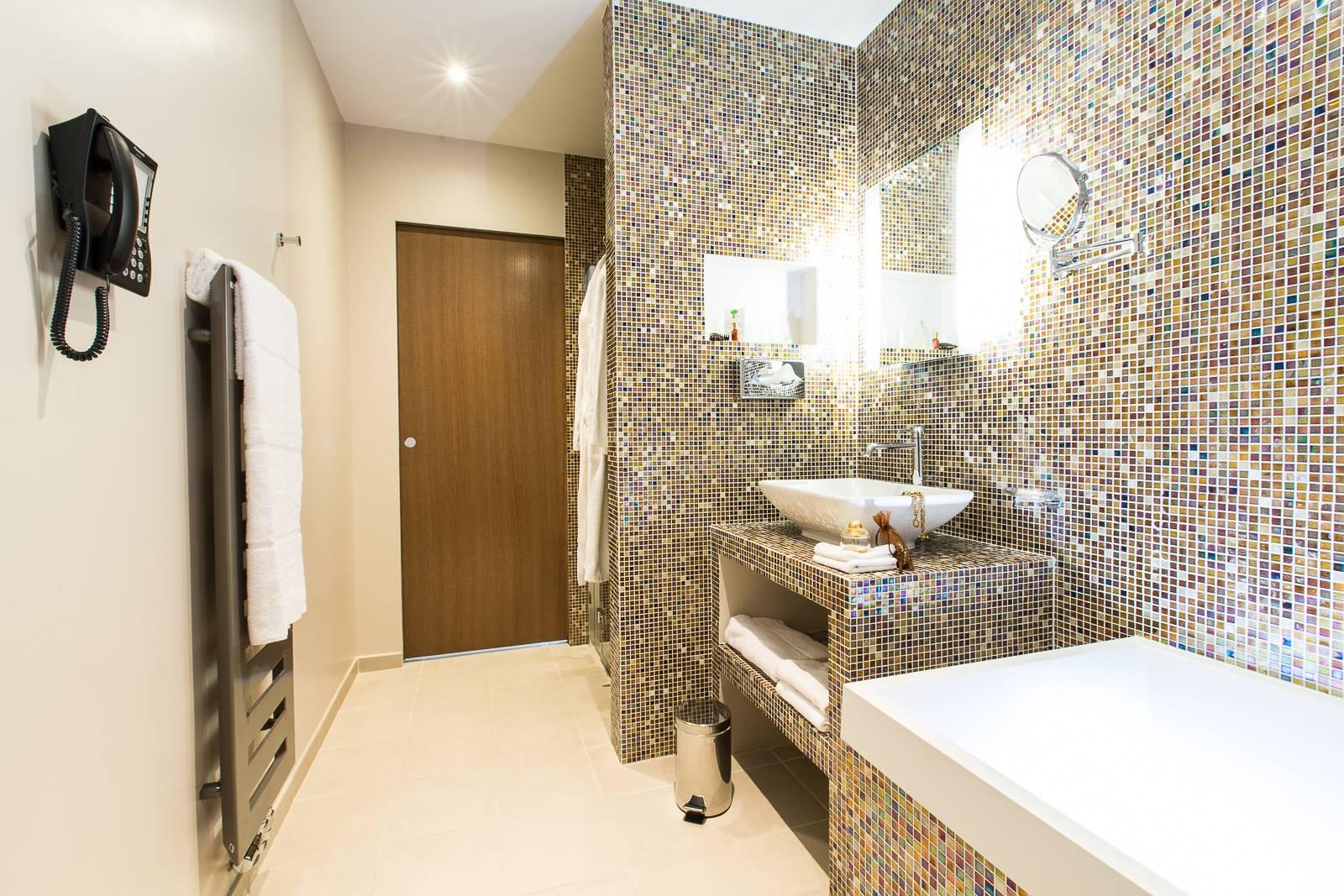 Hotel Marotte chambre confort - salle de bain