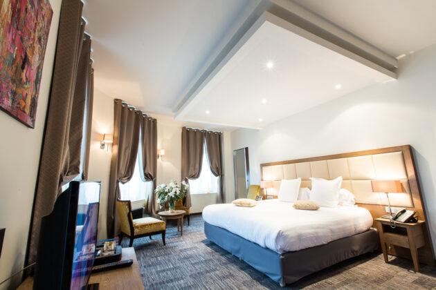 Hotel Marotte chambre confort vu chambre
