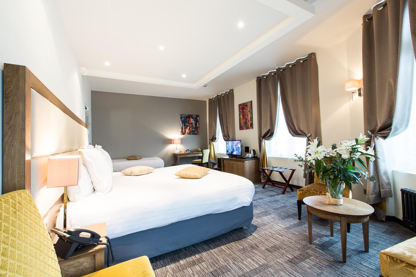 Hotel Marotte chambre confort lit double