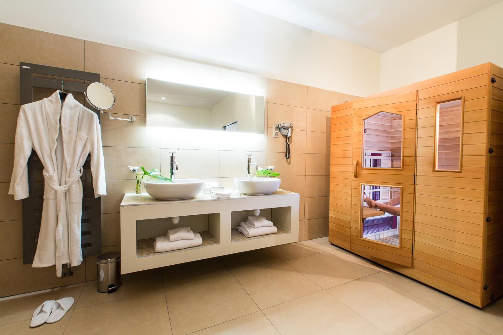 Hôtel Marotte suite Sauna