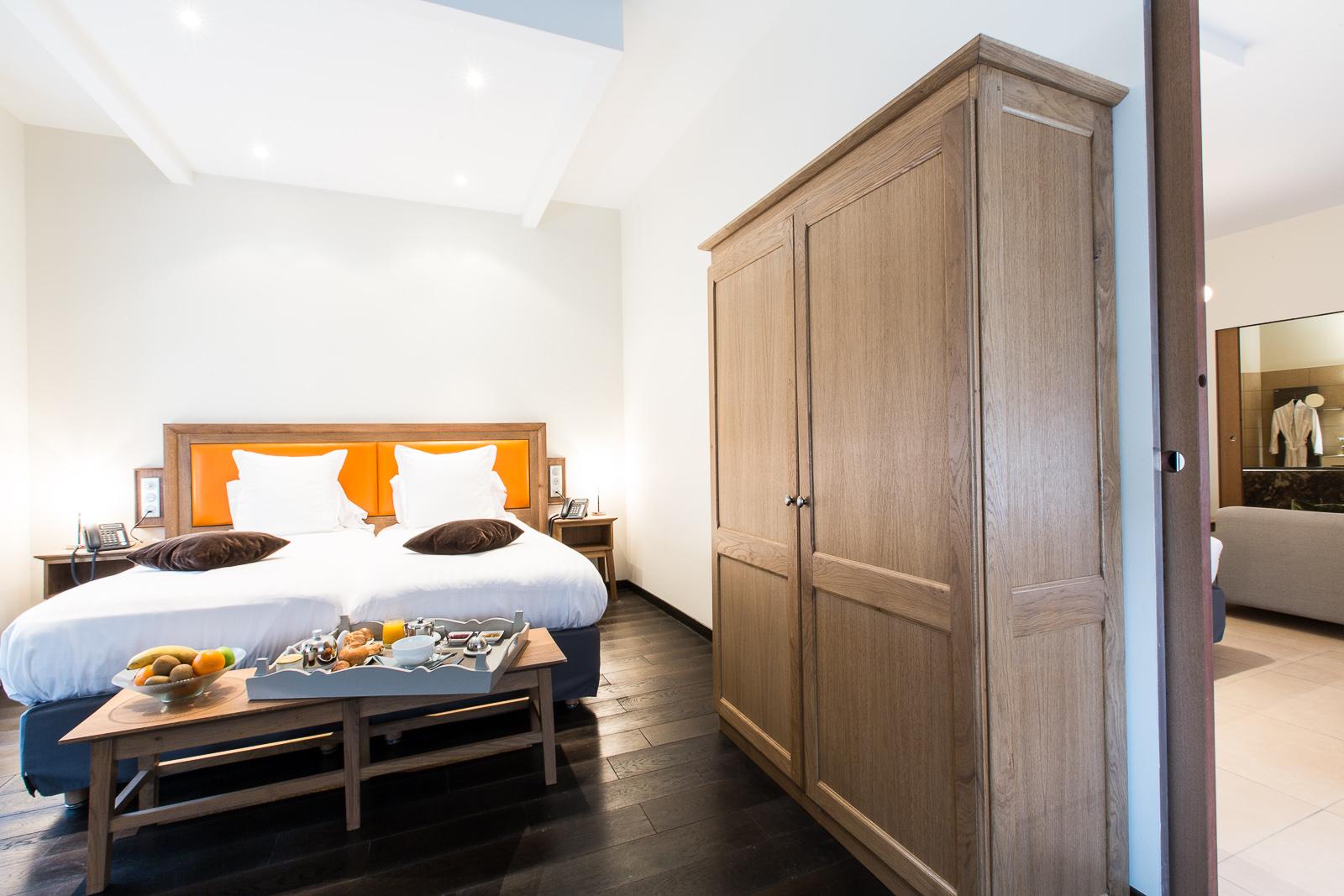 Hôtel Marotte suite Sauna lit double