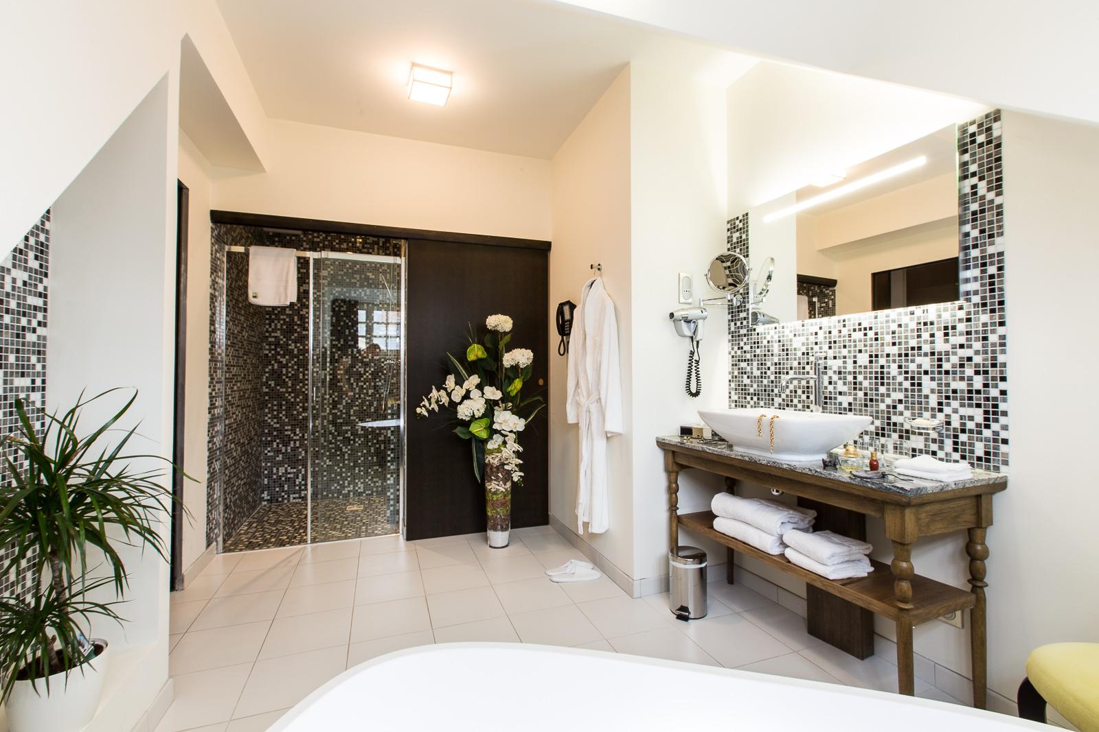 Hotel Marotte amiens chambre superieur douche
