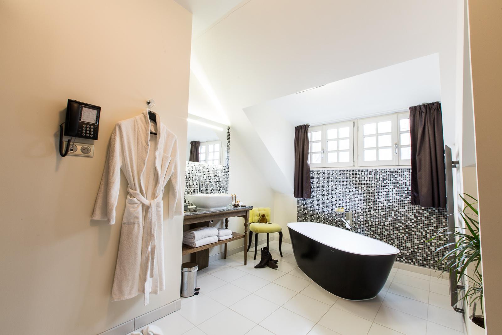 Hotel Marotte amiens chambre superieur salle de bain
