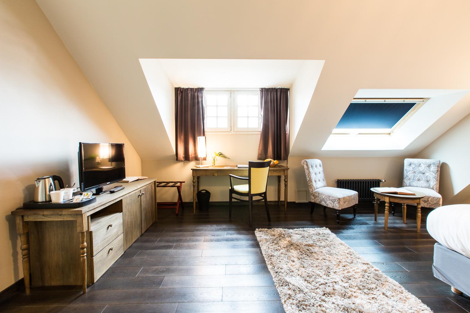 Hotel Marotte amiens chambre superieur espace