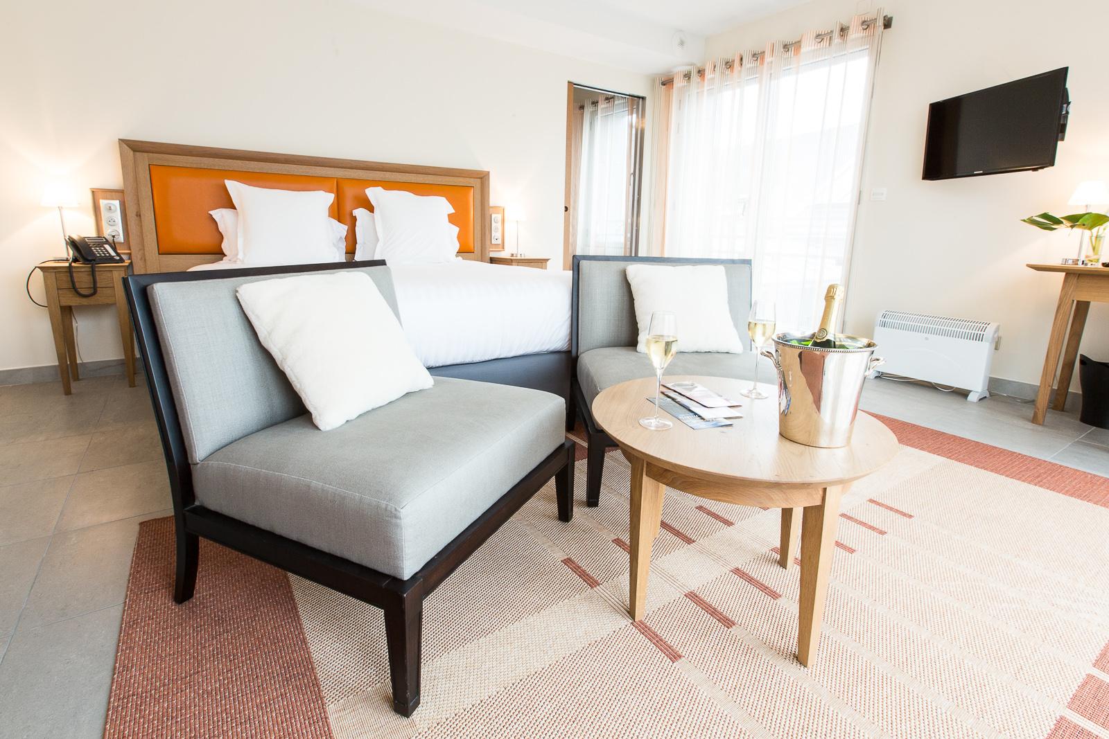 Hôtel Marotte - appartement chambre
