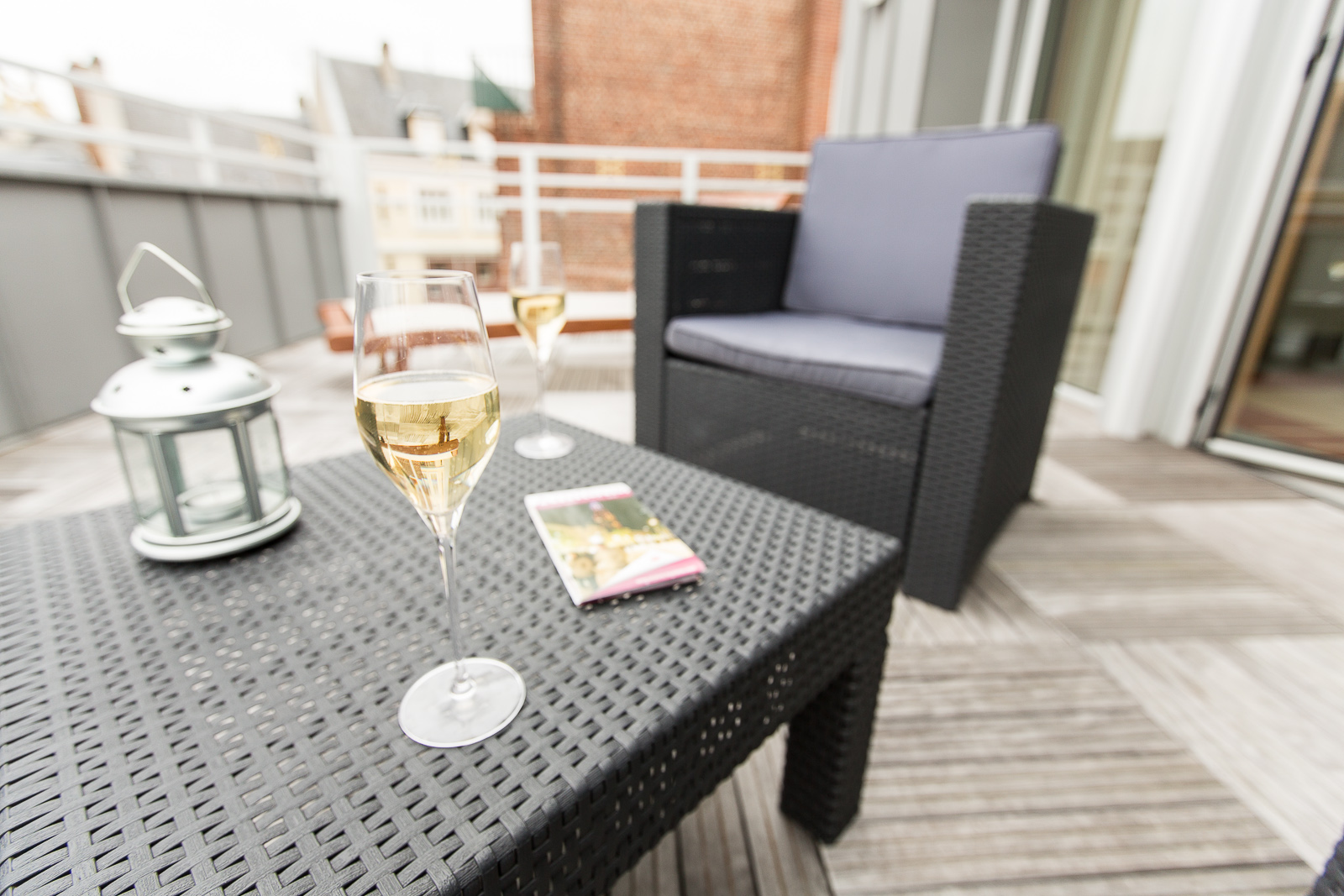 Hôtel Marotte - appartement champagne exterieur
