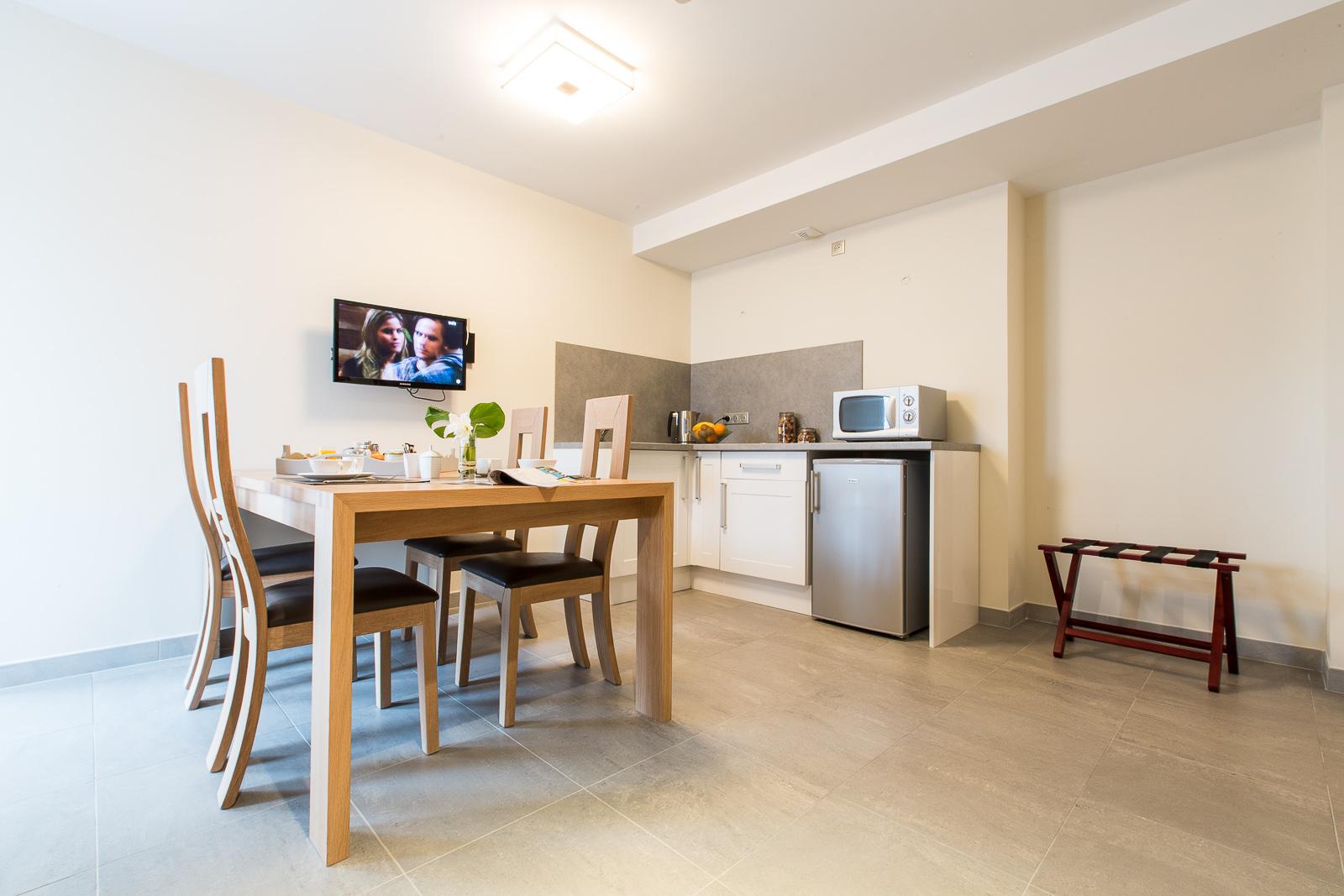 Hôtel Marotte - appartement cuisine