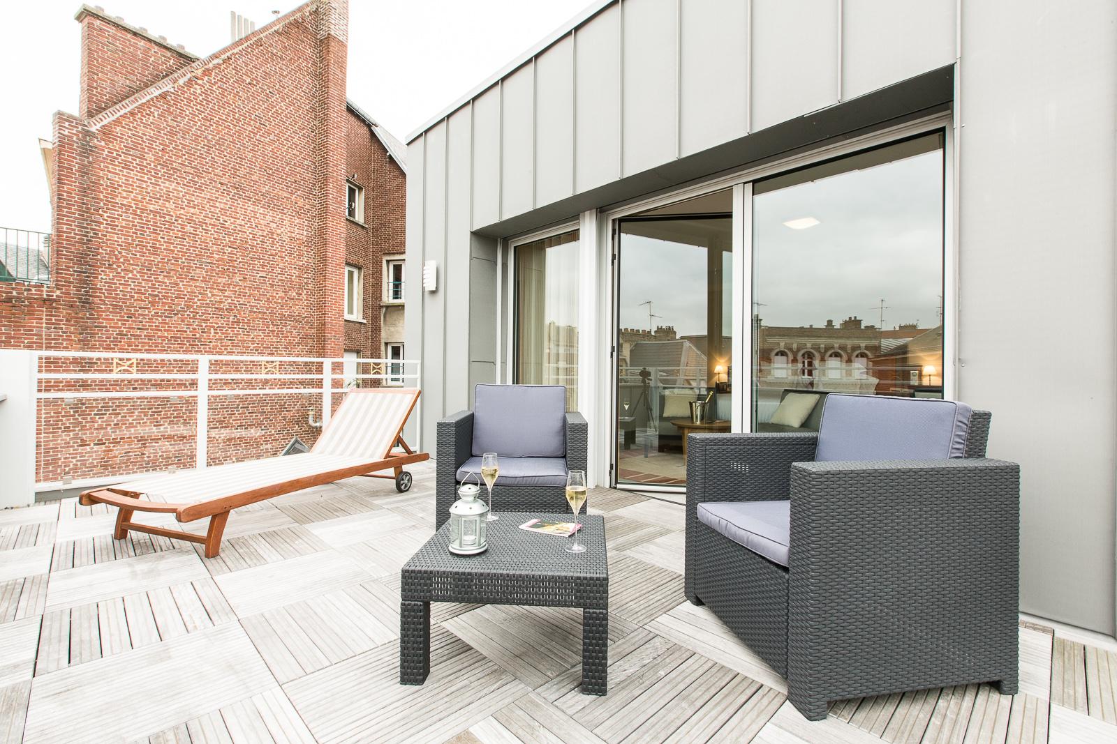Hôtel Marotte - appartement terrasse