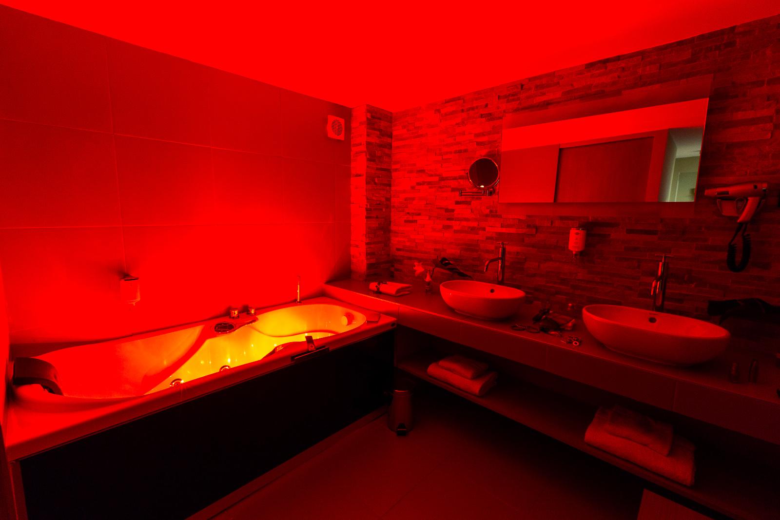 Hotel marotte suite balneo rouge