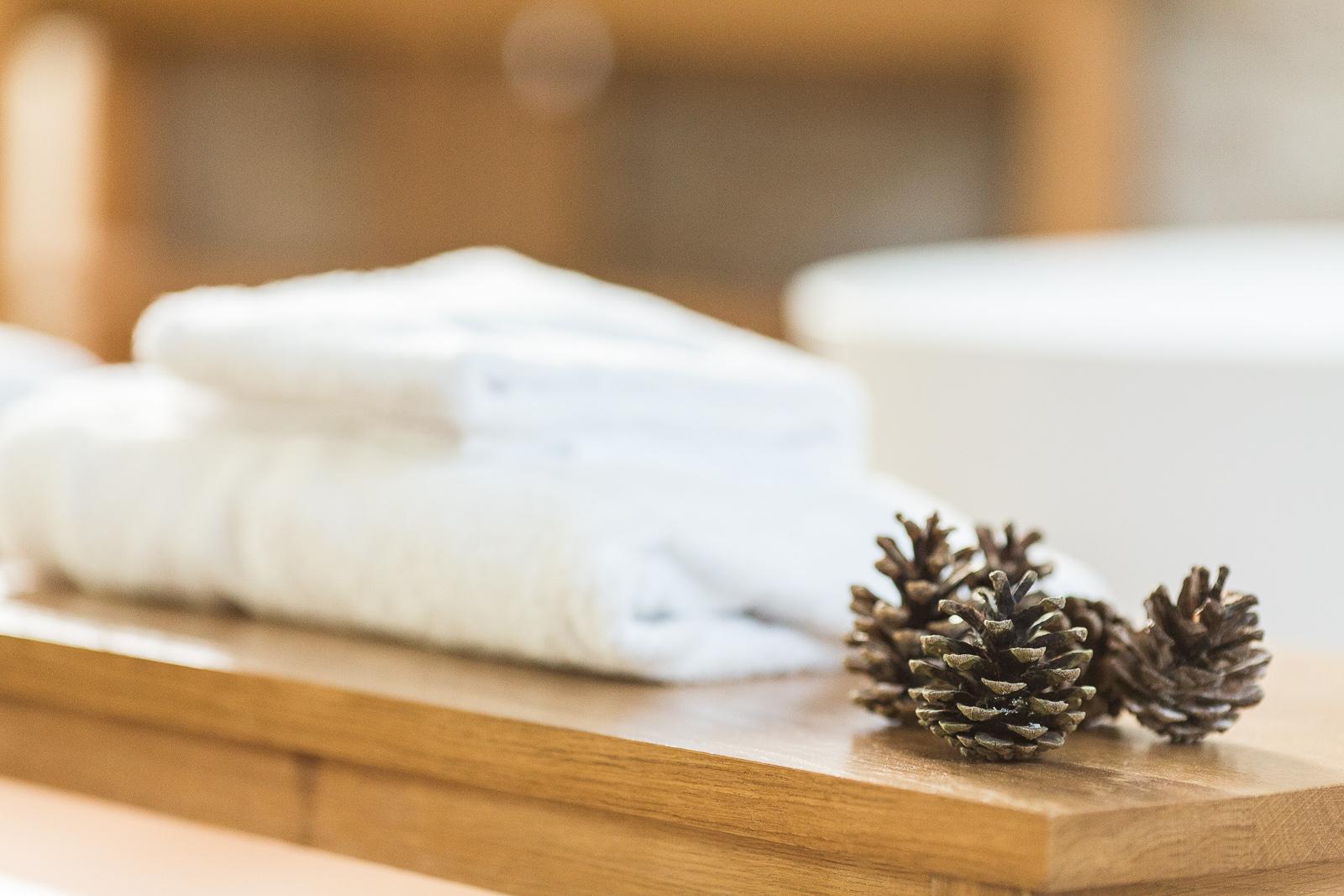 Hotel Marotte chalet accessoire salle de bain