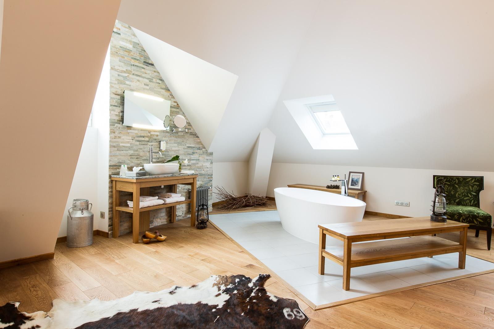 Hotel Marotte chalet salle de bain