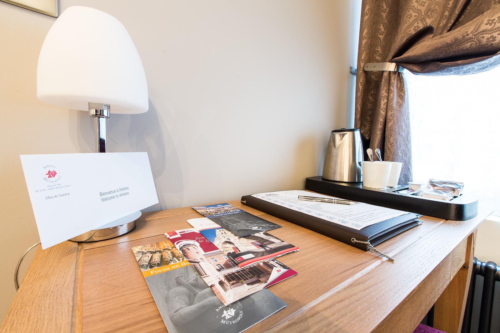 Hôtel Marotte chambre cosy activite