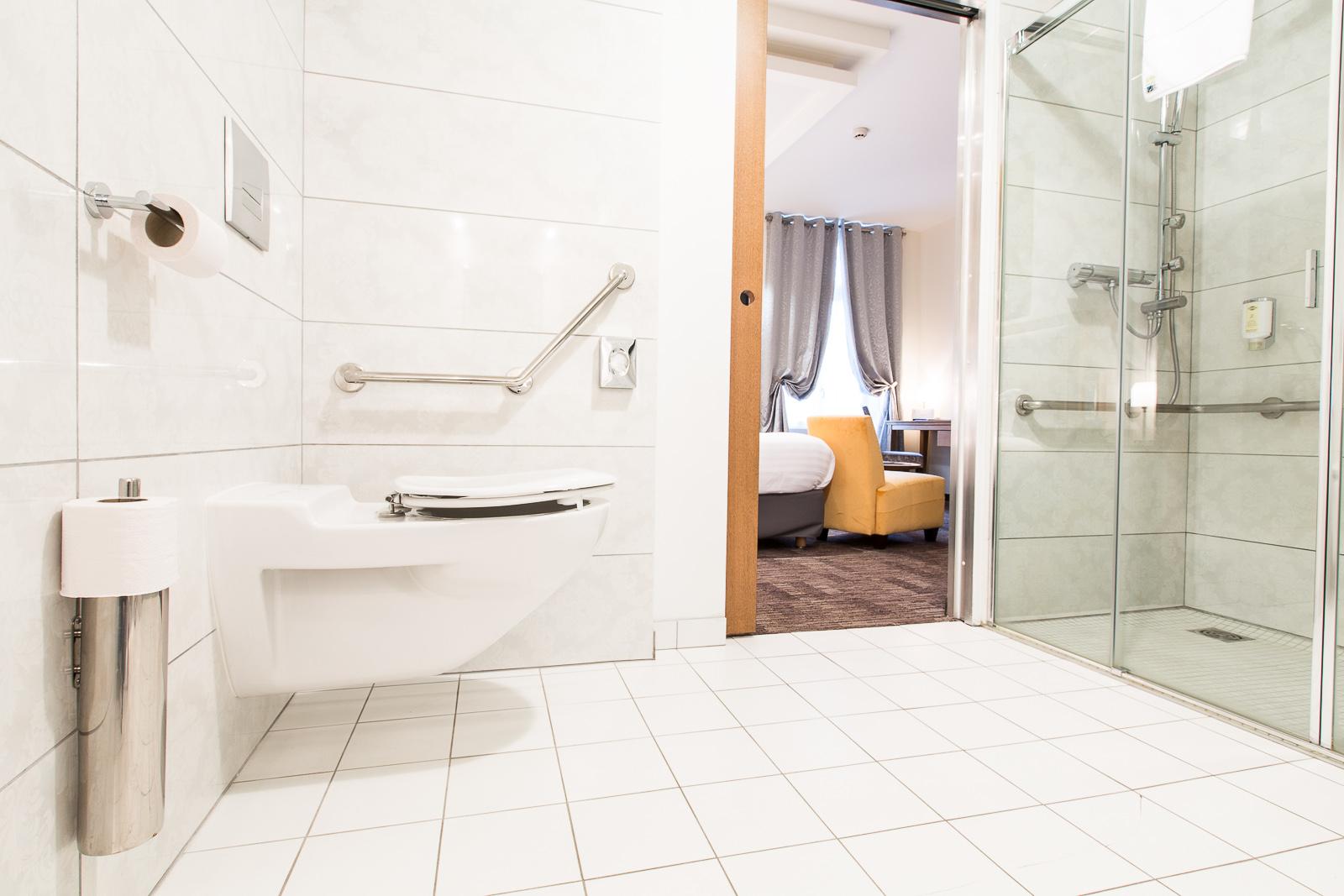 Hôtel Marotte chambre cosy wc