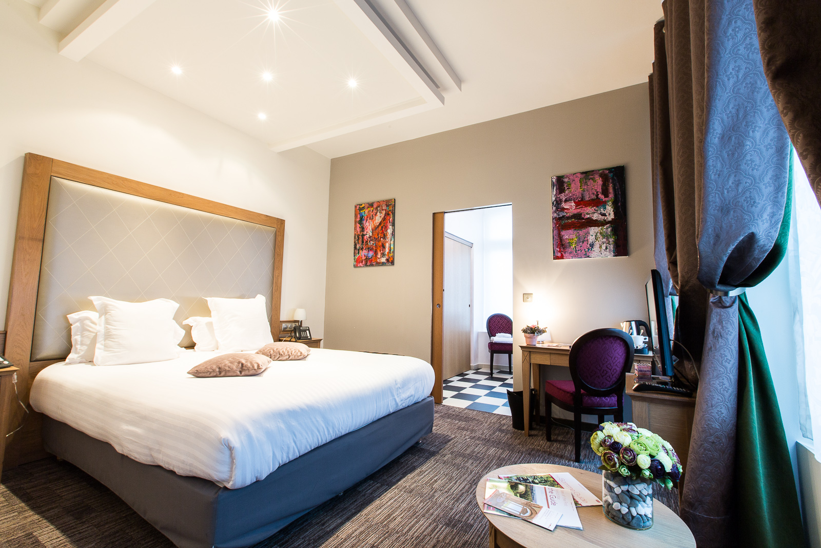 Hôtel Marotte chambre cosy