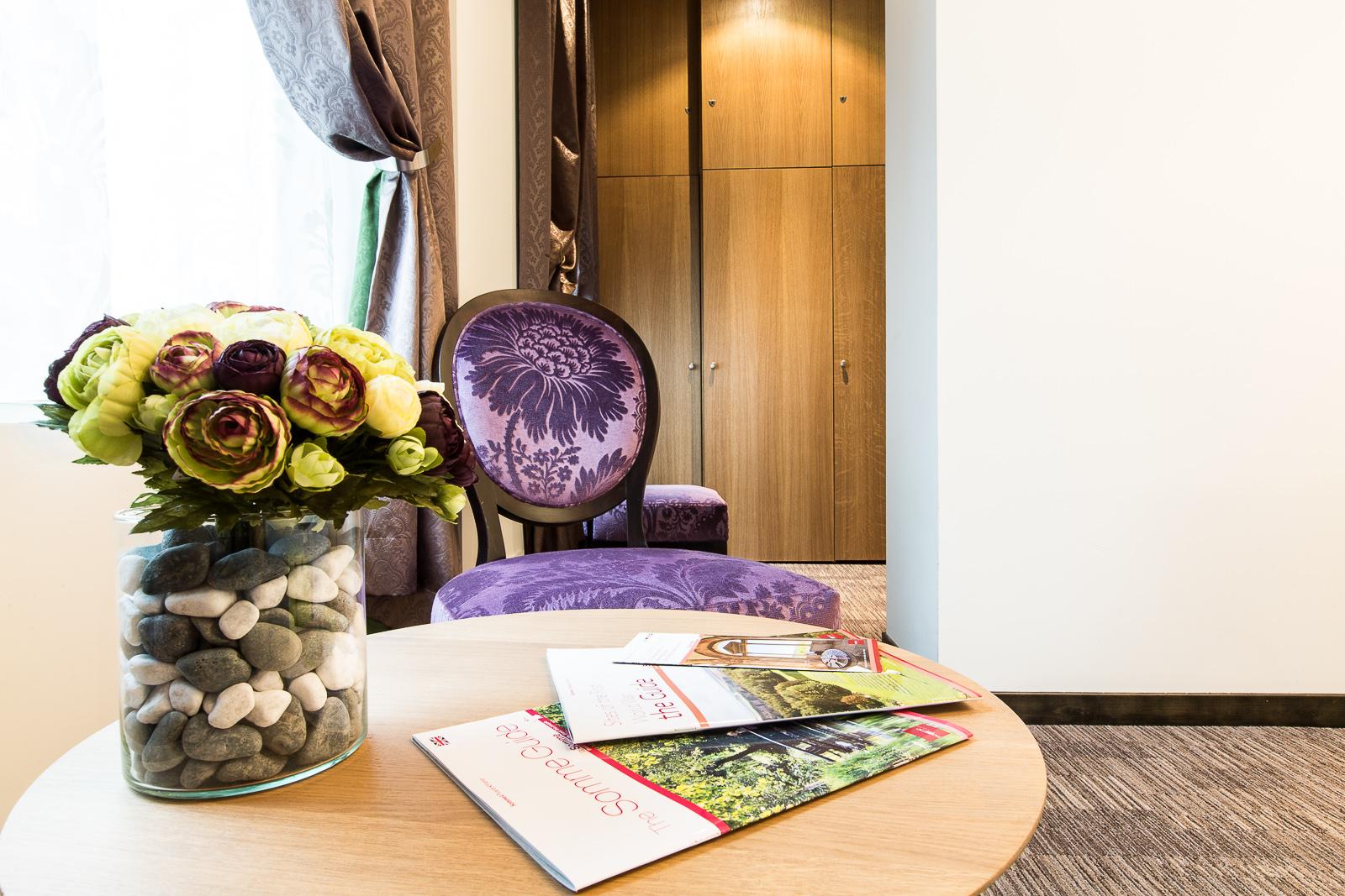 Hôtel Marotte chambre cosy salon