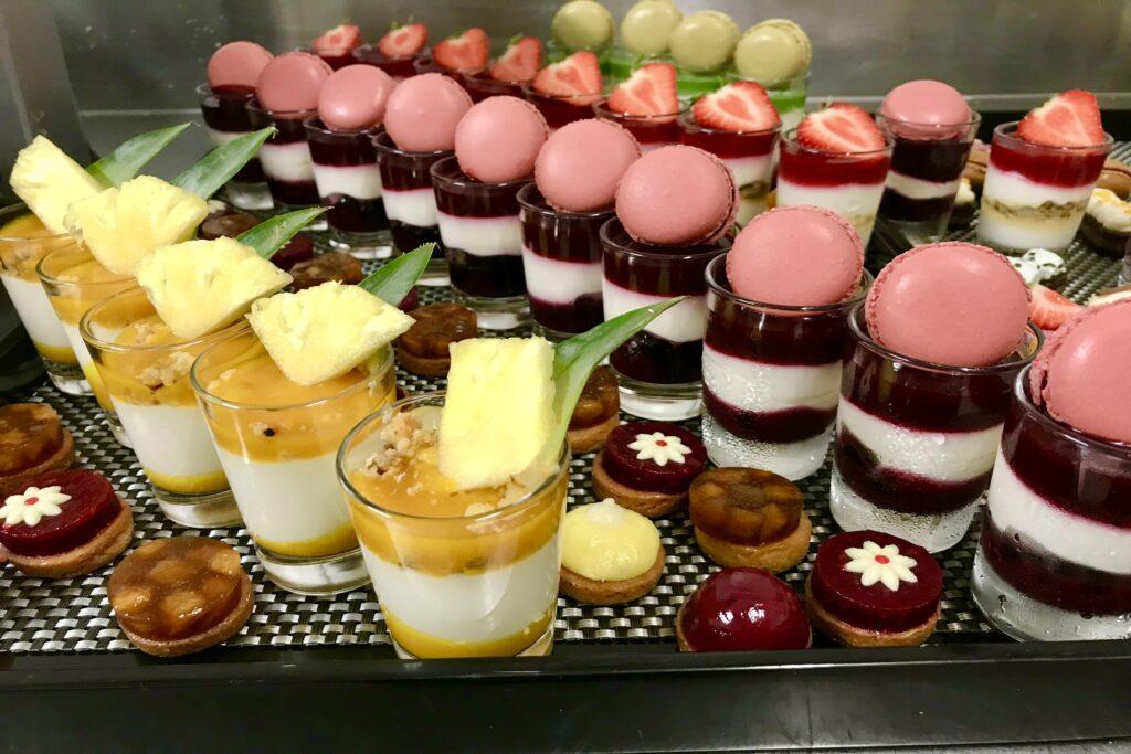 Galerie des Recettes - Hôtel marotte tea time salé sucré