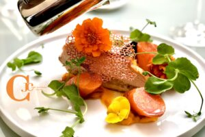 Plat la galerie des recettes - hotel marotte